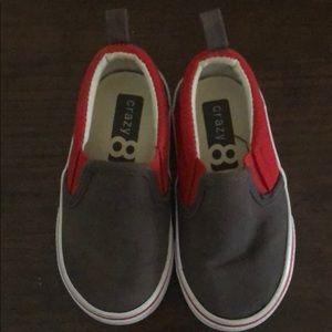 Crazy 8 Infant Slip on Sneaker